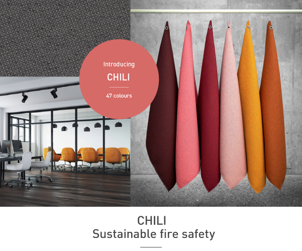 Heinemann Aircraft Interiors - Chili – sustainable fire safety